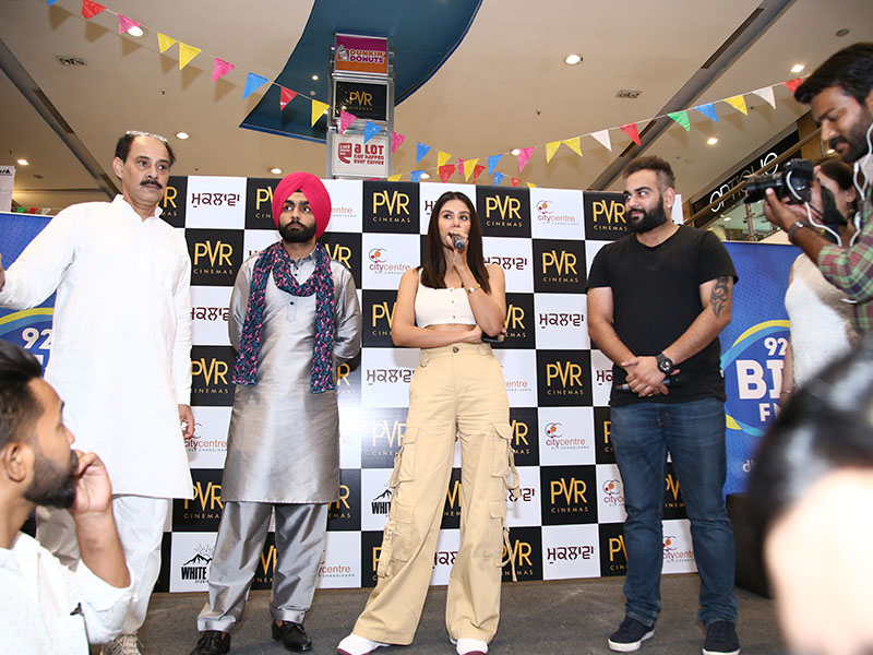 PVR Relaunch with sonam bajwa and amy virk-at-DLF-City-Centre-May-2019-Image-2