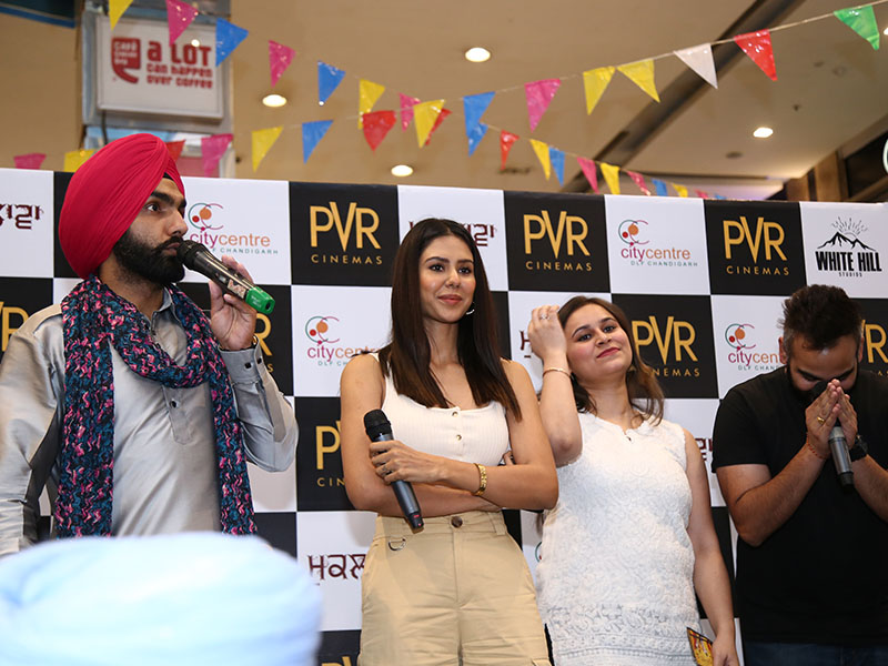 PVR Relaunch with sonam bajwa and amy virk-at-DLF-City-Centre-May-2019-Image-7